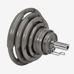 Master Fitness Viktskiva Järn Viktpaket Järn 115 kg