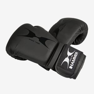 Hammer Boxing Boxnings- & Thaihandskar Boxing Boxing Gloves, Pu, Black