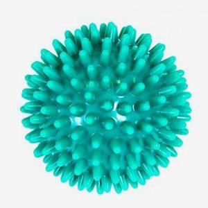 FitNord Massageboll Spiky Massage Ball 6 cm, Green