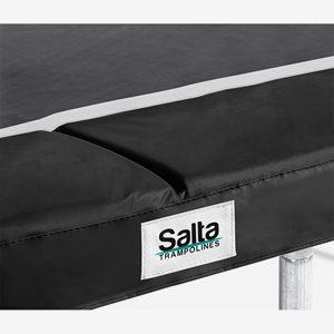Salta Trampolines Kantskydd Till Studsmatta 213 X 305 cm, Svart