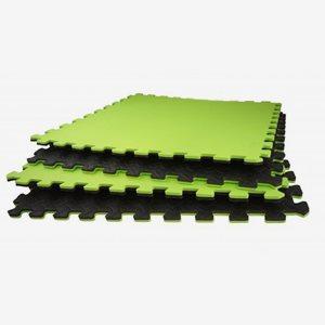 FitNord Gymgolv Gym Floor Mat 4 pcs, 62 cm X 62 cm