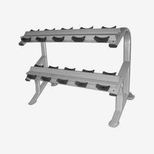 Titan LIFE Ställning hantlar Dumbbell Rack - 5 Set / 10 pcs