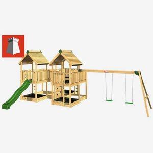 Hy Land Klätterställning Hy-Land Projekt 7 + Swing Modul