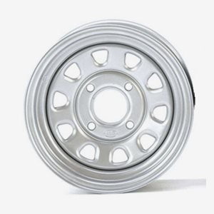 ITP Stålfälg Delta Silver 12x7 4/156 4+3