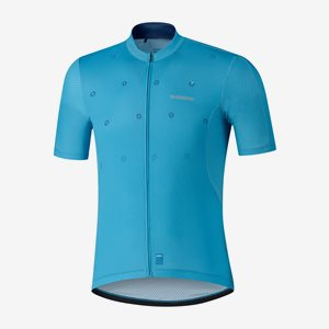 Shimano Cykeltröja Kortärm Aerolite Blå