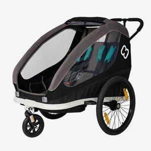 Hamax Multisportvagn Traveller Svart
