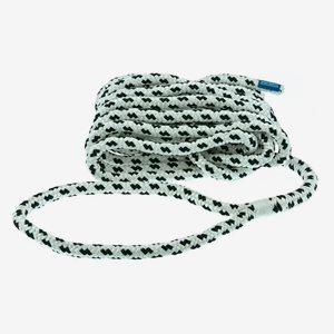 Polyropes Förtöjningslina FLEXL Vit-Svart 14mm 6m