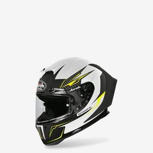Airoh MC Hjälm GP550 S Venom Vit/Svart