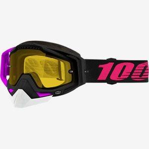 100% Crossglasögön Racecraft Svart/Lila