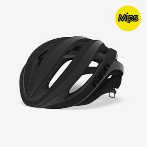 Cykelhjälm Giro Aether Spherical MIPS Matte Black Flash