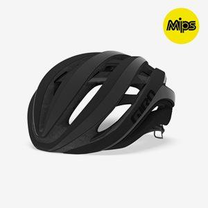 Giro Cykelhjälm Aether Spherical Mips Mattsvart Flash