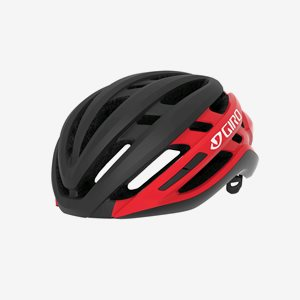 Cykelhjälm Giro Agilis MIPS Matte Black/Bright Red