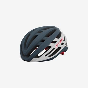 Cykelhjälm Giro Agilis MIPS Matte Portaro Grey/White/Red