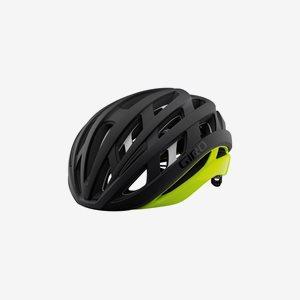 Cykelhjälm Giro Helios Spherical MIPS Matte Black/Highlight Yellow
