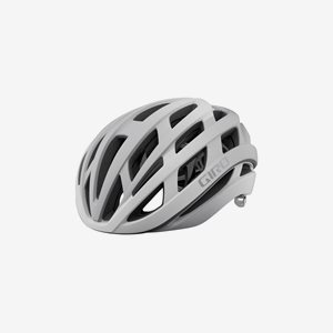 Cykelhjälm Giro Helios Spherical MIPS Matte White/Silver Fade