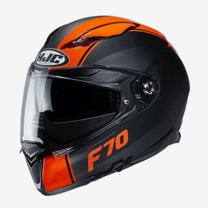 HJC MC Hjälm F70 Mago Svart/Orange