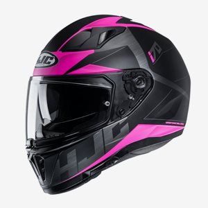 HJC MC Hjälm I70 Eluma Svart/Rosa