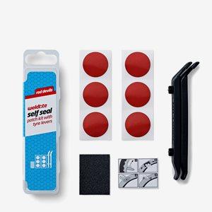Weldtite Red Devils Self Seal Patch Kit Med Däckavtagare