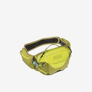 EVOC Cykelmidjeväska Hip Pack Pro 3 + 1,5L Bladder Sulphur/Grön