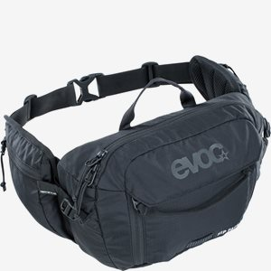EVOC Cykelmidjeväska Hip Pack 3 + 1,5L Bladder Svart