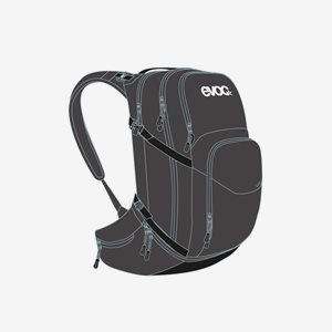 EVOC Cykelryggsäck Explorer Pro 26 Svart