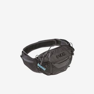 EVOC Cykelmidjeväska Hip Pack Pro 3 + 1,5L Bladder Svart/Grå