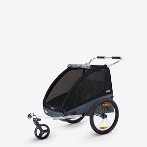 Thule Cykelvagn Coaster XT Svart