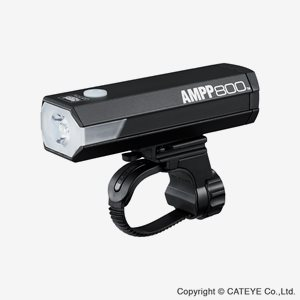 Cateye Cykelbelysning Set Ampp800&Viz300