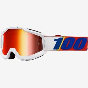 100% Crossglasögon Accuri Vit/röd