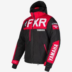FXR Skoterjacka Yamaha Helium X Svart/Röd