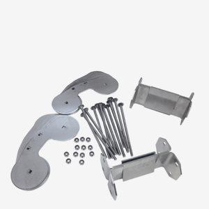 Lip-Lap Fastsättnings Kit För 2 Enskilda Bryggor