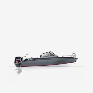 Buster XL VMAX Edition 115Hk Fishfinder