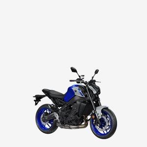 Yamaha MT-09 2021 Blå