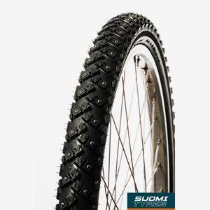 Dubbdäck Suomi Tyres Mount & Ground W144 47-507 (24 x 1.25) reflex, 144 dubbar