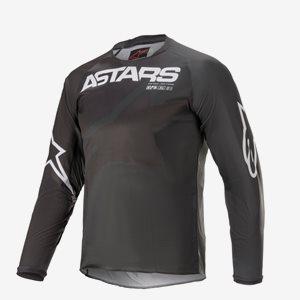 Alpinestars Junior Crosströja Racer Braap Svart/Grå/Vit