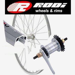 Rodi Cykelhjul Bak 28 Tum Fotbroms 0-Växlar