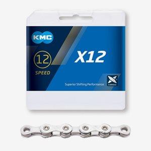 KMC Cykelkedja X12 12-Växlar Silver