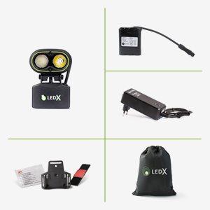 Ledx Belysning Kaa 2000 Wide Lamp Komplett Kit
