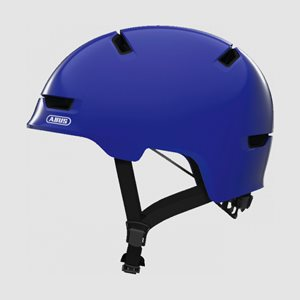 Cykelhjälm ABUS Scraper 3.0 Kid Shiny Blue