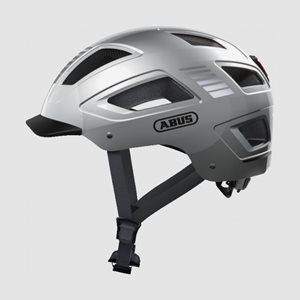 Cykelhjälm ABUS Hyban 2.0 Signal Silver