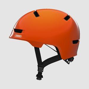 Cykelhjälm ABUS Scraper 3.0 Kid Shiny Orange
