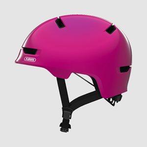 Cykelhjälm ABUS Scraper 3.0 Kid Shiny Pink