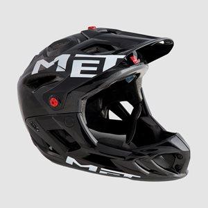 Cykelhjälm MET Parachute Anthracite Black/Glossy
