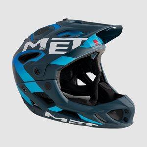Cykelhjälm MET Parachute Blue Shaded Cyan/Matt