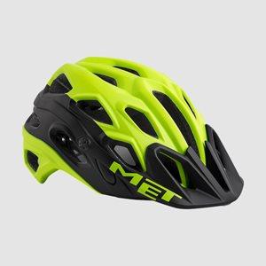 Cykelhjälm MET Lupo Safety Yellow Black/Matt