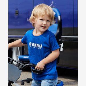 Yamaha T-shirt Kids Blå