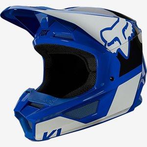 Fox Crosshjälm V1 Blå