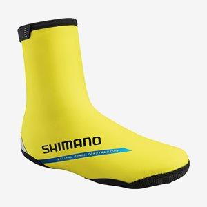 Shimano SkoöverdragThermal Road Neongul