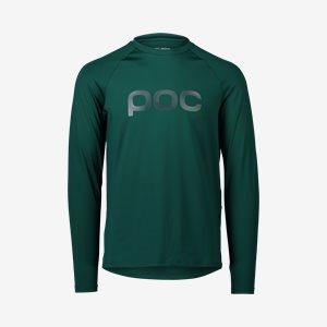Cykeltröja POC M's Reform Enduro Jersey Moldanite Green