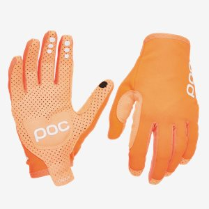 Cykelhandskar POC AVIP Glove Long Zink Orange
